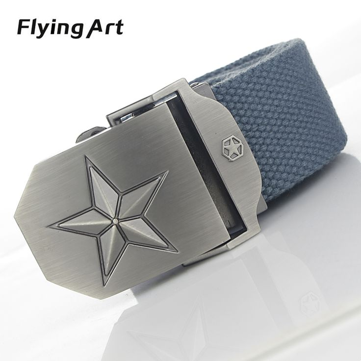 Hot High Quality Automatic Buckle Canvas Belt //Price: $13.95 & FREE Shipping //     #Style