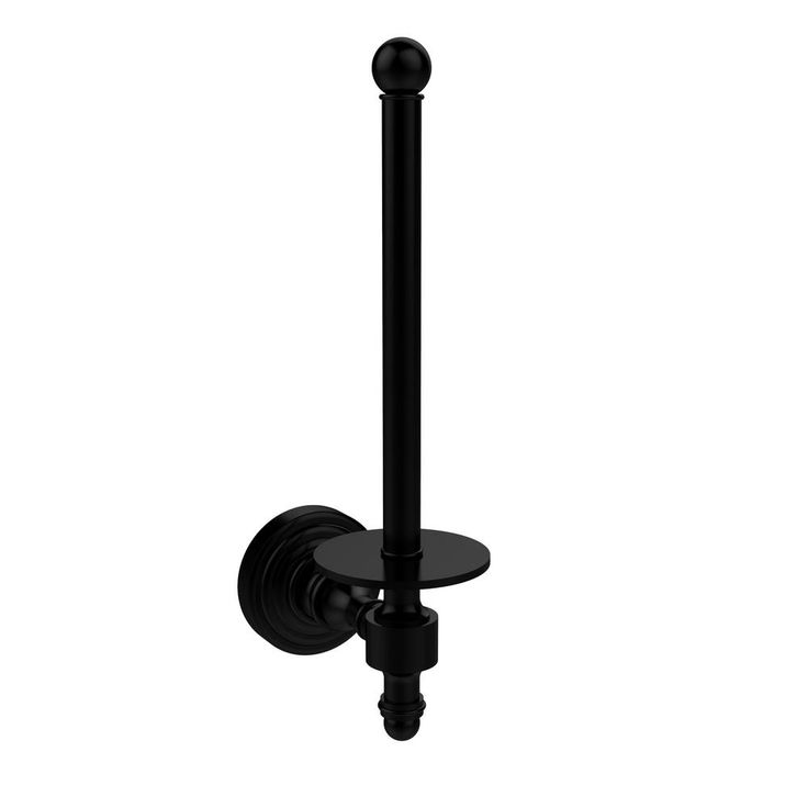 Allied Brass Retro Wave Collection Upright Single Post Toilet Paper Holder in