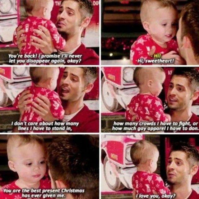 """#BabbyDaddy 4x02 """"It's a Wonderful Emma"""" - Ben and Emma"""