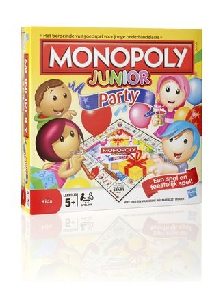 Hasbro Monpoly Party junior • de Bijenkorf
