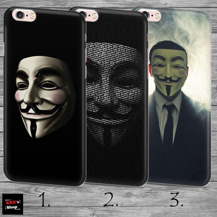 Vendetta Mask Anonymous Revenge THIN case cover iPhone 4 5c 5s SE 6 6s 7 8 plus+