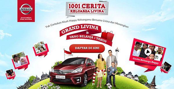 Lomba 1001 Cerita Keluarga Livina Berhadiah Mobil Grand Livina