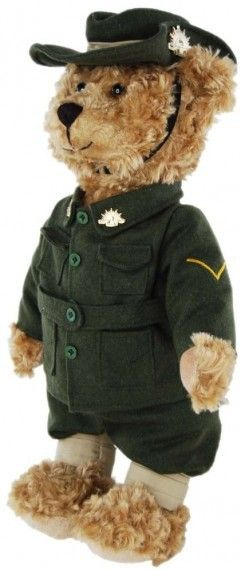 Defence Gifts - First World War Digger Bear, $50.00 (http://www.defencegifts.com.au/first-world-war-digger-bear/)
