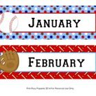 These fun calendar headers are great for a baseball classroom theme. All 12 months are included as well as: This month is: Last month was: Next...