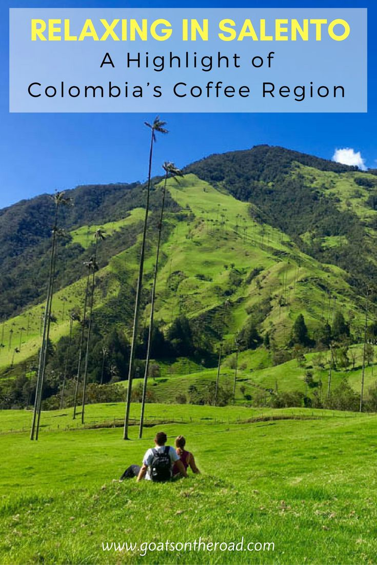 Relaxing in Salento: A Highlight of Colombia's Coffee Region