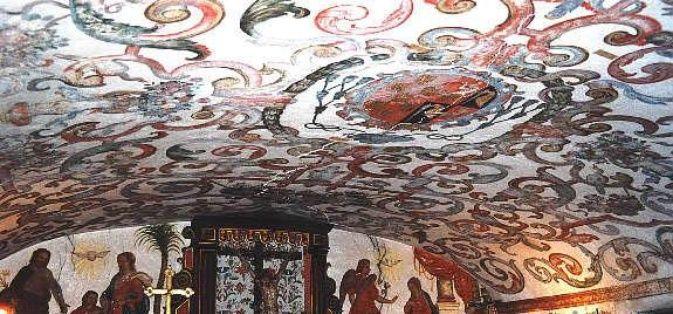 Albero di Jesse nella Sacrestia. Il sito ospita diverse foto della Cappella