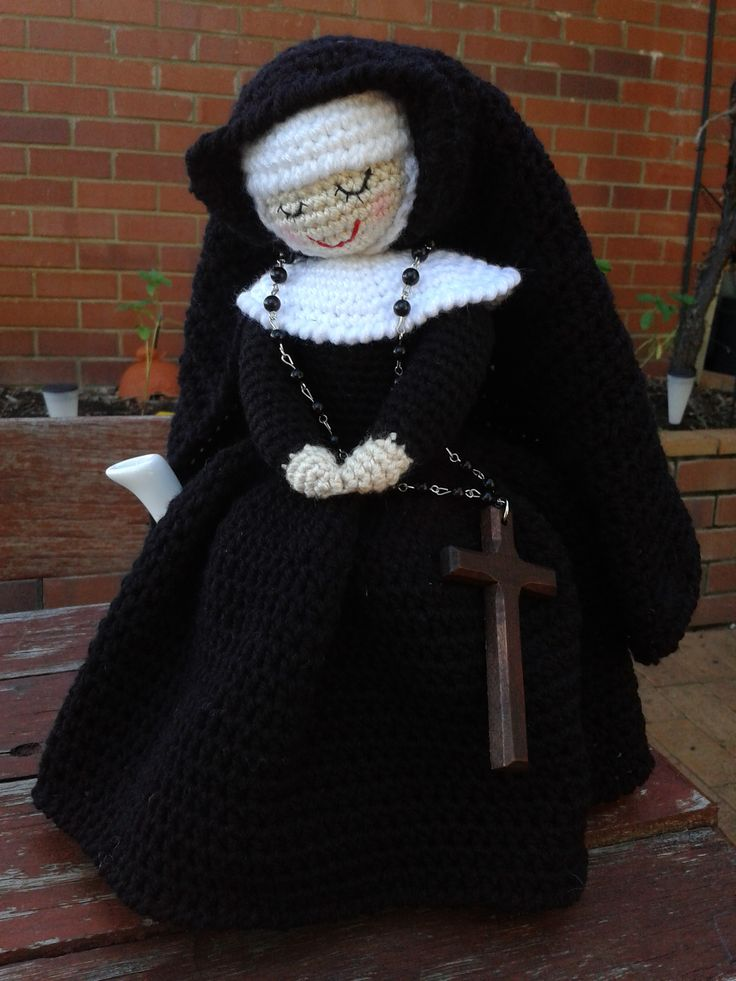 Mother Superior Tea Cosy - no pattern.