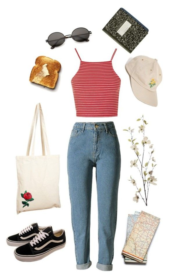 """lucrèce"" by julietteisinthe80s on Polyvore featuring Topshop, Borders&Frontiers, Vans and Pier 1 Imports"