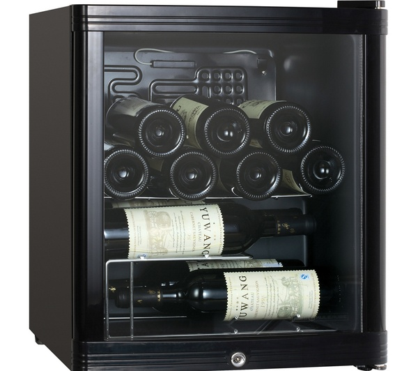 Buy ESSENTIALS CWC15B12 Wine Cooler - Black | Free Delivery | Currys
