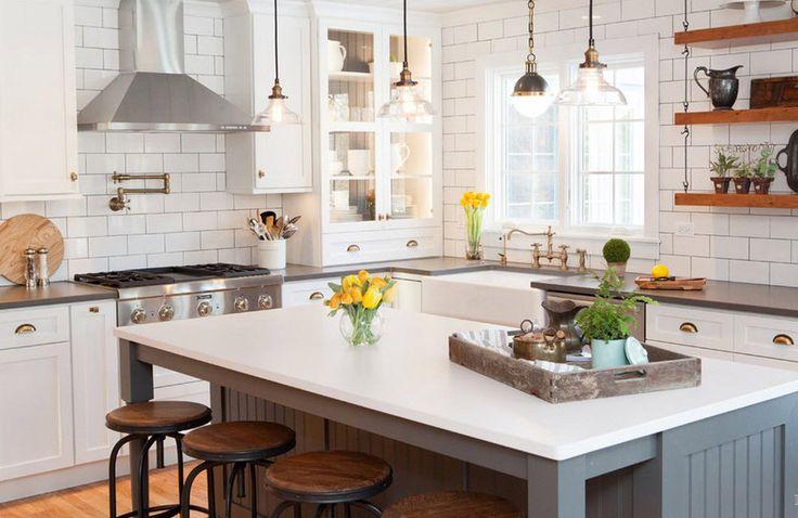Как выбрать плитку на кухонный фартук: 8 нюансов | Свежие идеи дизайна интерьеров, декора, архитектуры на InMyRoom.ru