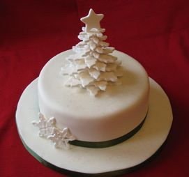 19 Amazingly Breathtaking Christmas Cake Decorations