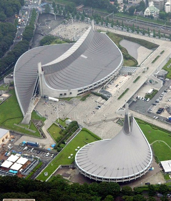 Gymnase Yoyogi - Tokyo - 1984