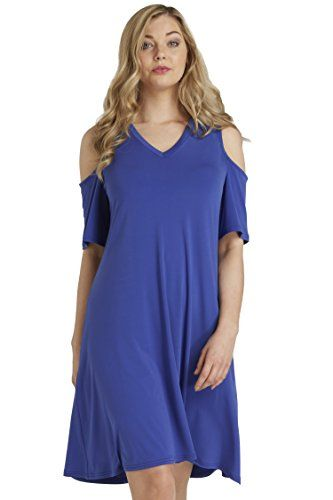 Roman Originals Women's Blue Cold Shoulder Swing Dress Ca... https://www.amazon.co.uk/dp/B06WLHNJSB/ref=cm_sw_r_pi_dp_x_qnFSybPYJ789W