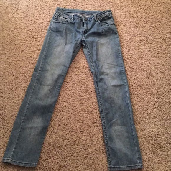 1254f49a88 ⭐️MOVING SALE⭐️Cest toi Jeans with zipper design Faded denim jeans with a  lot