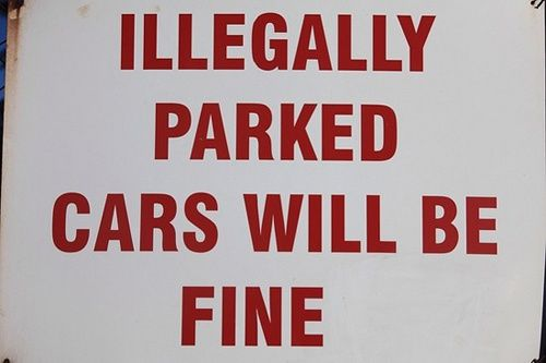 Don't believe the sign. The sign is a lie. - 20 Times One Letter Made Things Worse