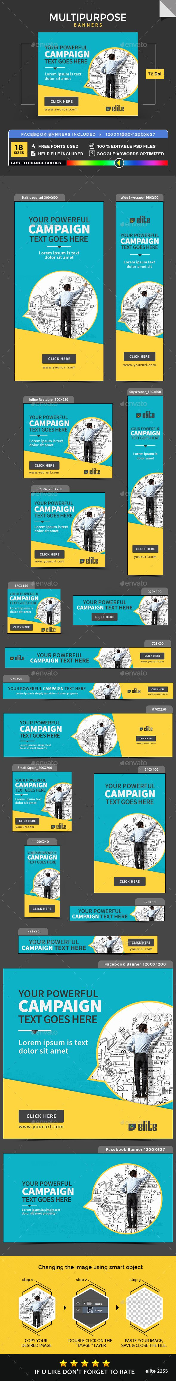Multipurpose Banners - Banners & Ads Web Elements Download here : https://graphicriver.net/item/multipurpose-banners/19873339?s_rank=85&ref=Al-fatih