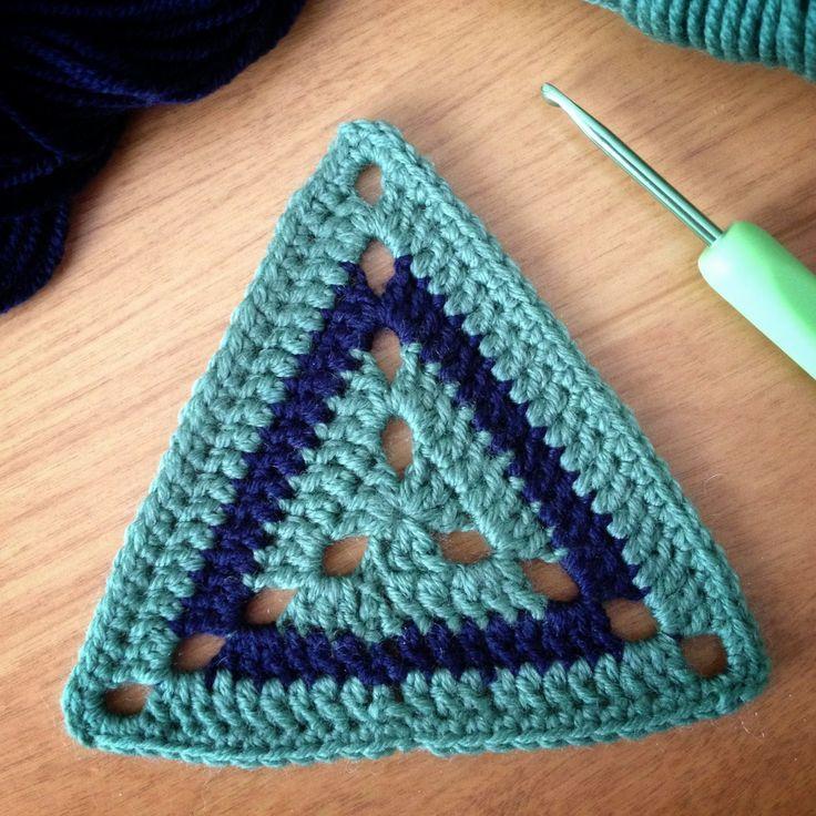 "Crochet motif #57 from the book : ""Beyond the square Crochet Motifs"""