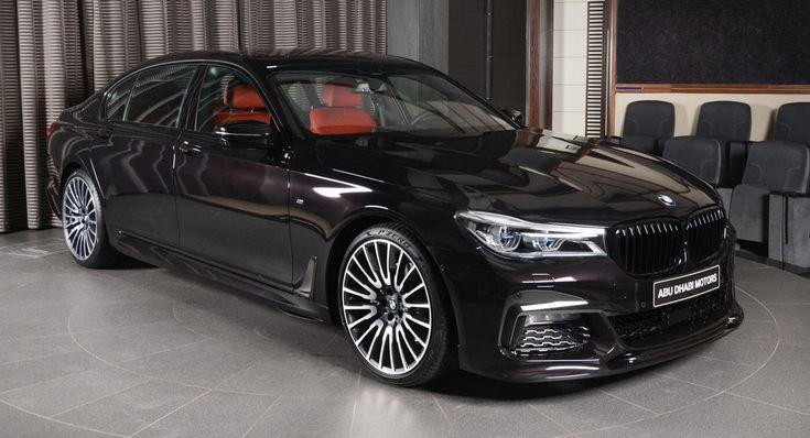 Ruby Black Metallic BMW 730Li Is Downsizing At Its Finest #news #3D_Design