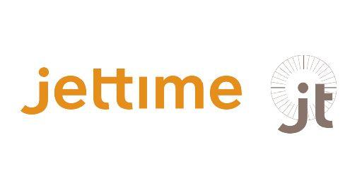 Jettime  logo. (DANISH).