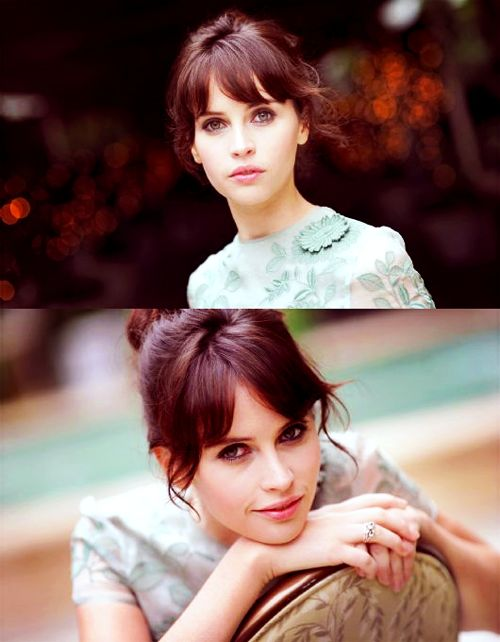 """felicity jones. her style in """"like crazy"""" (which apparently she did herself because they had no budget) is great."""