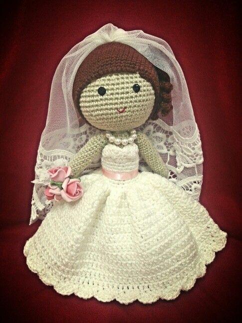 59 best Crocheted Wedding images on Pinterest | Patrones de ...