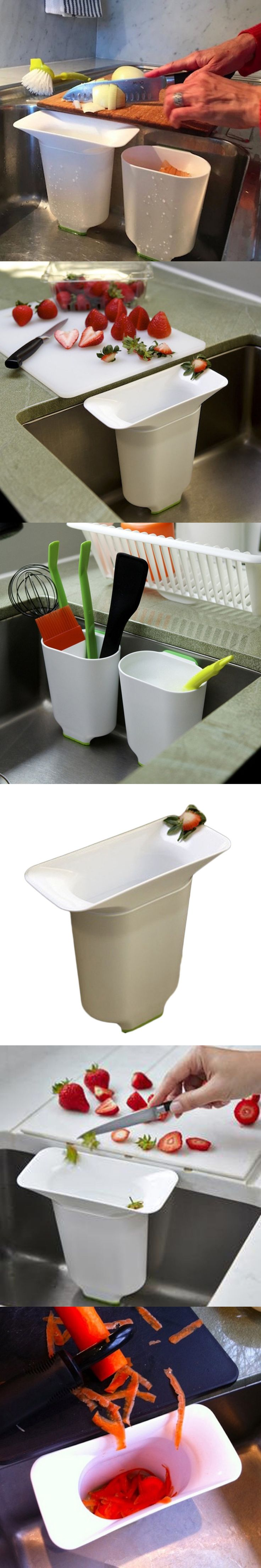 Kitchen Sink Drain Basket Drain Fruit And Vegetable Rack Shelf Storage Box Multifunctional Basket