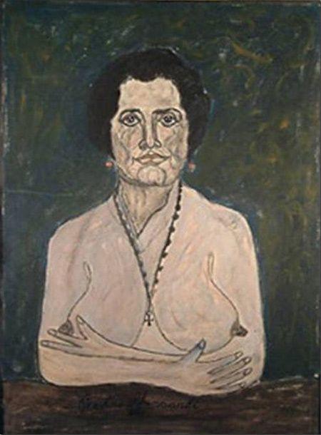 Una donna di Pietro Ghizzardi