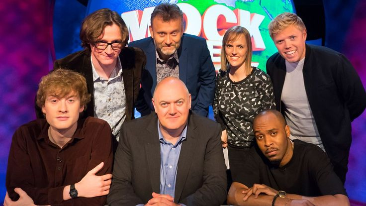 Mock the Week = With guests James Acaster, Dane Baptiste, Rob Beckett, Ed Byrne and Holly Walsh. Z