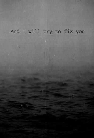 Y voy a tratar de arreglarlo. Hablo de mi corazón<3 :) .