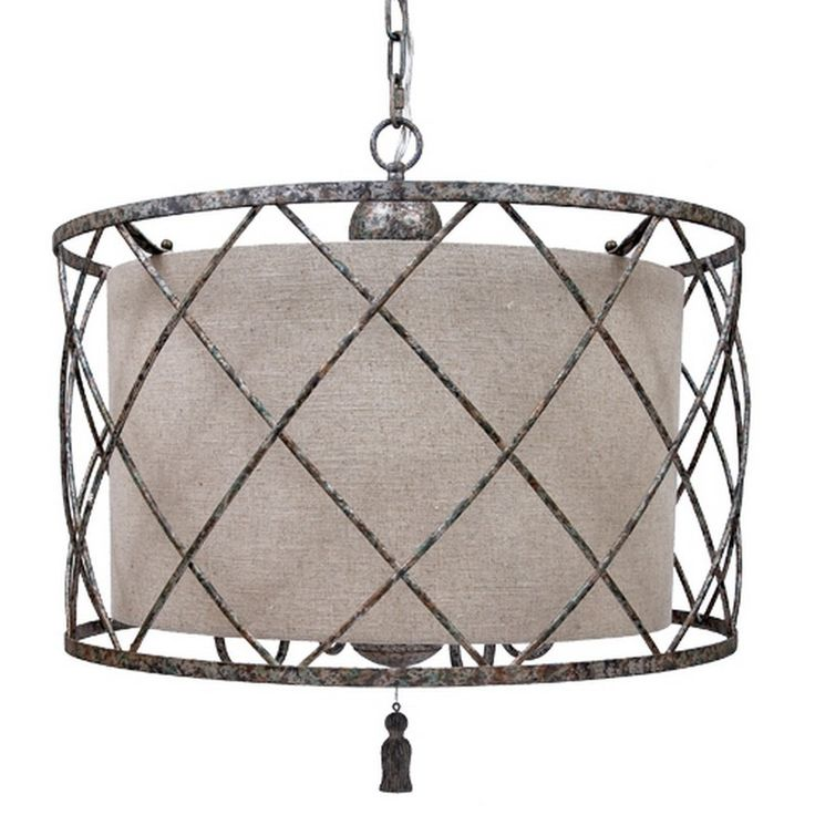 "Open Weave Chandelier And Large Linen Shade C3500 - Old World Design Open Weave Chandelier And Large Linen Shade With Aged Silver Finish C3500SKU: C3500Manufacturer: Old World DesignCategory: LightingSub-Category: ChandeliersFinish: SilverProduct Type: LightingDimensions: 25""D X 22""H"