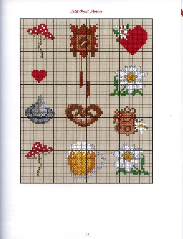 Austria kreuzstich pattern