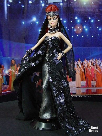 Ninimomo's Barbie.  Mediterranean and Middle East.  2009/2010  Miss Macedonia