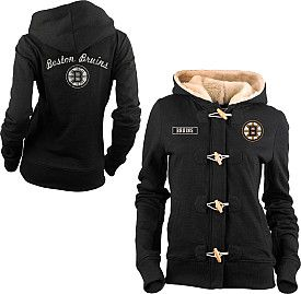 Old Time Hockey Boston Bruins Women's Inna Toggle Hoodie - Shop.NHL.com