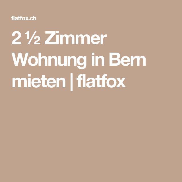 2 ½ Zimmer Wohnung in Bern mieten | flatfox