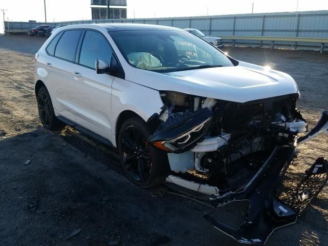 2019 Ford Edge St In 2020 Ford Edge 2019 Ford Salvage Cars
