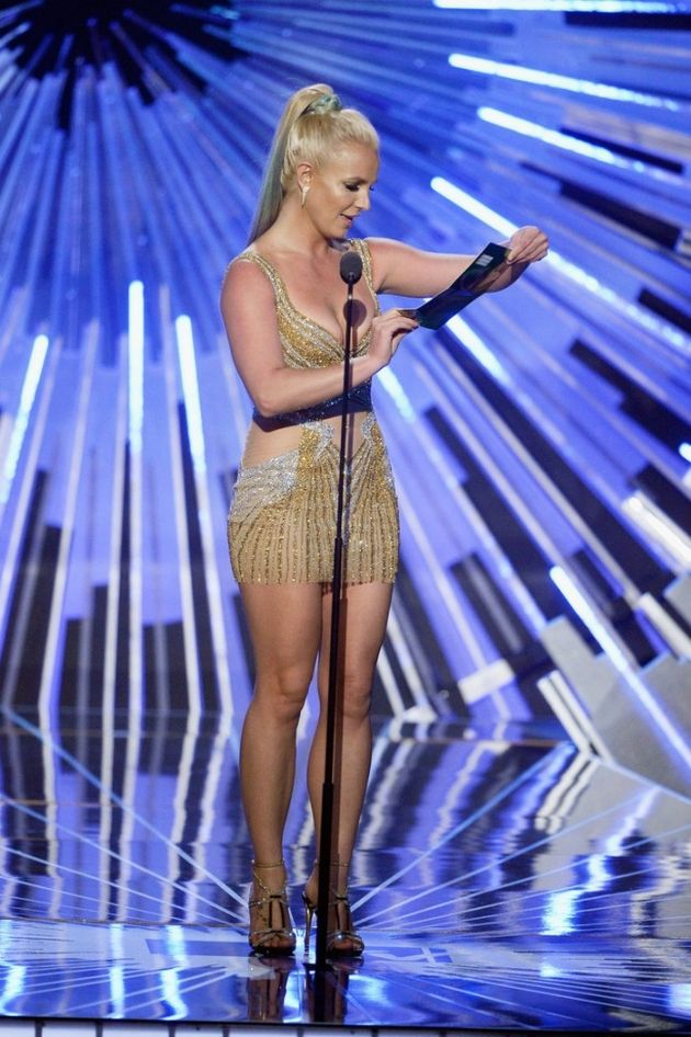Britney Spears 2015 MTV Video Music Awards #celebrity, #britneyspears #2015mtv #mtv2015