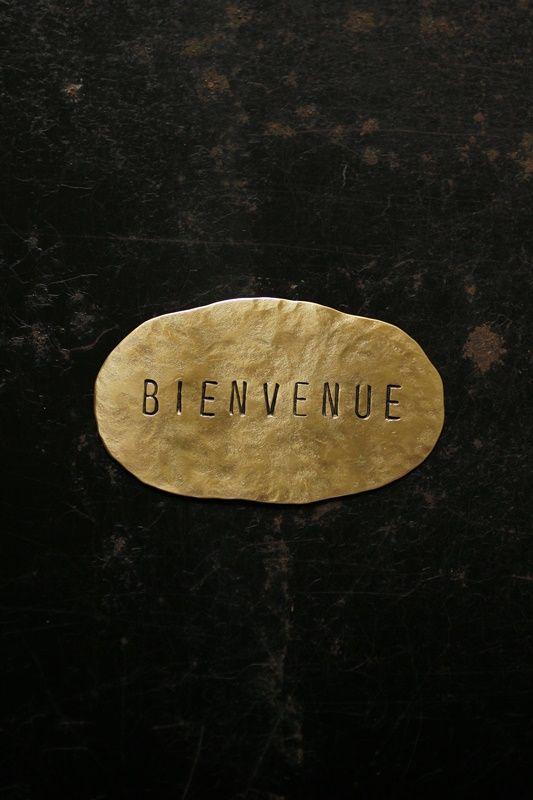 Brass Plate #5 - IRRE [ BIENVENUE ]