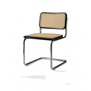 Sedia con struttura in metallo cromato, dal produttore al consumatore, creazione e produzione made in Italy.