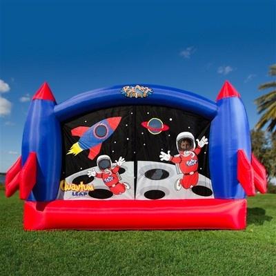 Rocket ship bounce house space kids child baby jump castle space ship moon astronaut