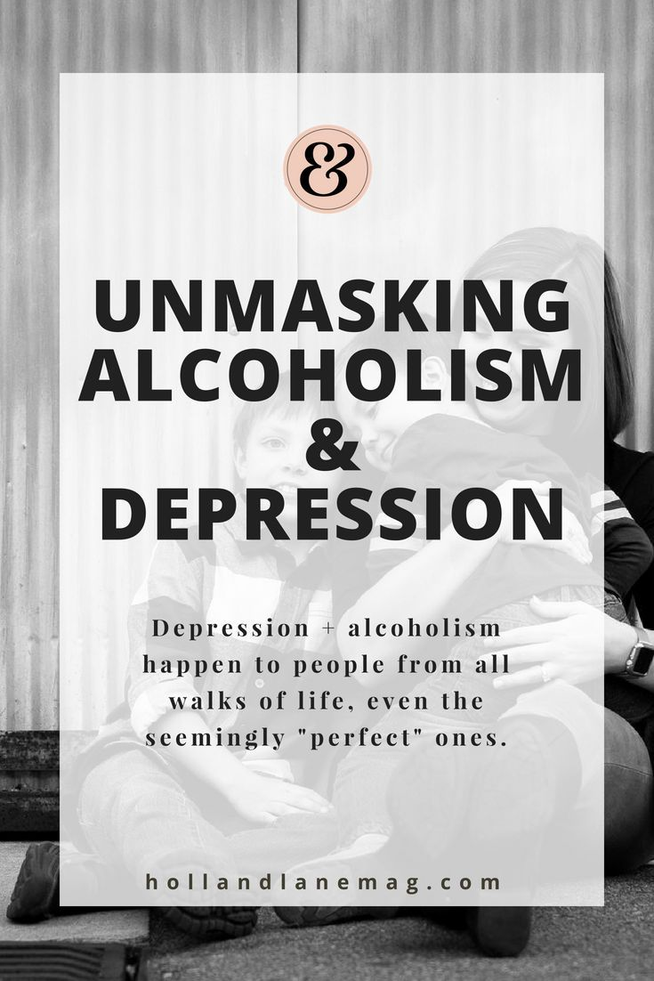 are all alcoholics depressed