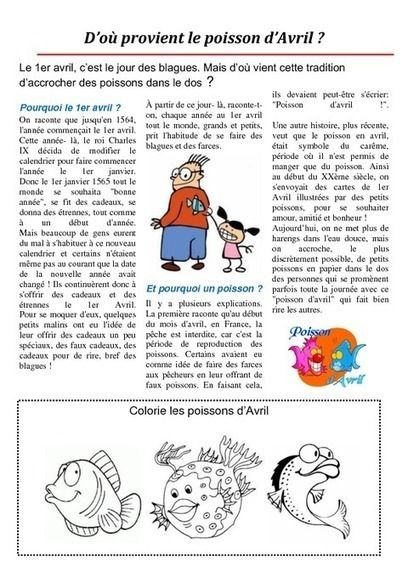 Origines du poisson d'avril | Remue-méninges FLE | Scoop.it
