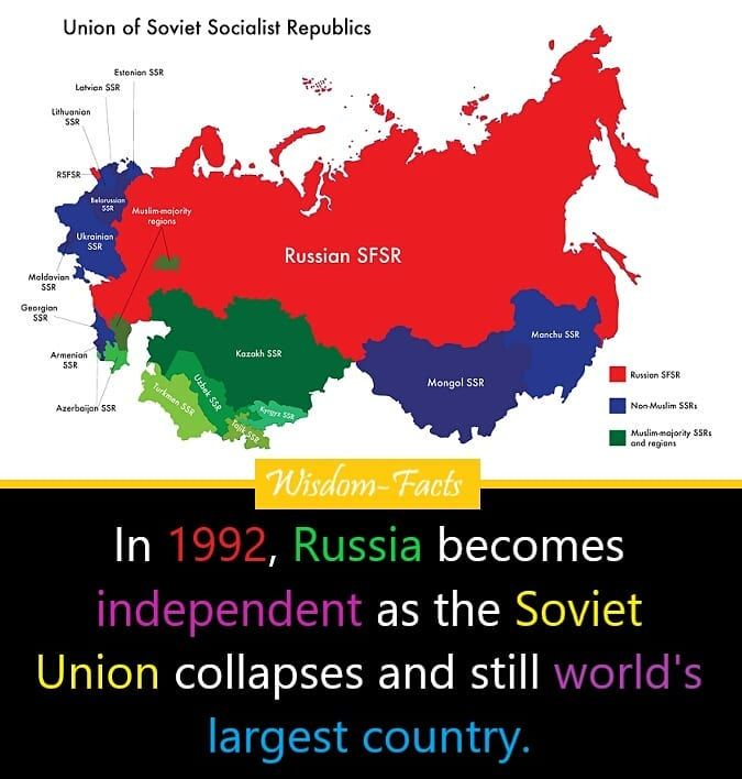 0 Likes 0 Comments Wisdom Facts Wisdom Facts On Instagram Follow Us For More Interesting Facts Wi Fun Facts Facts Union Of Soviet Socialist Republics