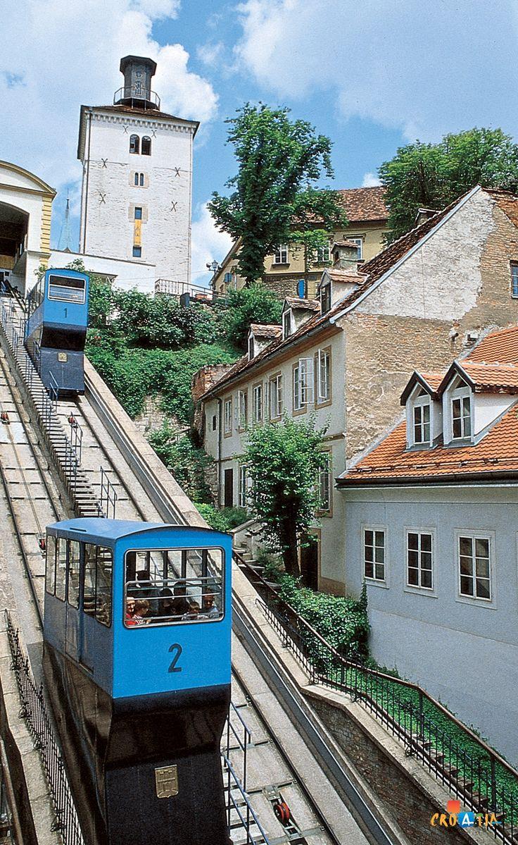 Uspinjača (funicular), Zagreb, Croatia