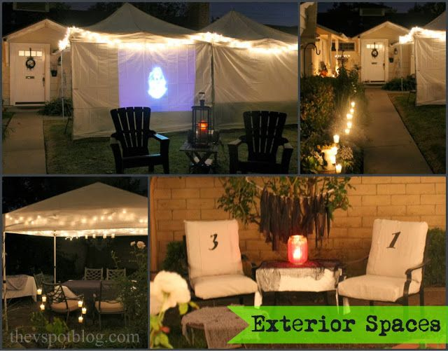 outdoor halloween party decor - Outdoor Halloween Party