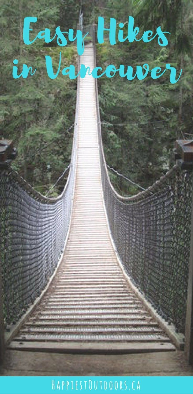 Easy hikes in Vancouver for beginners and tourists that deliver gorgeous west coast nature, with minimal effort. Plus they're transit accessible!