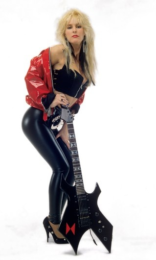 Lita Ford with BC Rich Warlock Not a huge fan of the Warlock, but this is one of the best pics of Lita Ford IMHO