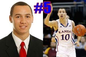 KU Player Quiz! Who is #5 for the Kansas Jayhawks 2013 basketball team?