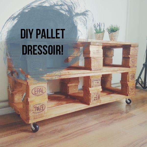 DIY | Zelf een pallet dressoir maken! - A Spoonful of Dork
