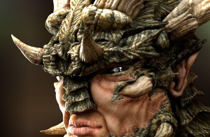 Dragonman Tutorial - 3dsmax, Zbrush, Photoshop