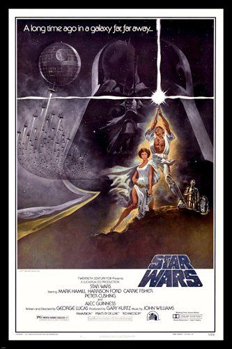Buy STAR WARS movie poster sexy princess LEIA & LUKE skywalker LIGHTSABER 24X36 (reproduction, not an original) - Topvintagestyle.com ✓ FREE DELIVERY possible on eligible purchases